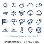 weather forecast icons | Shutterstock .eps vector #147673403