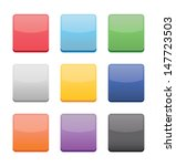blank icons templates for web... | Shutterstock .eps vector #147723503