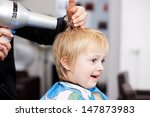 little child with a look of... | Shutterstock . vector #147873983