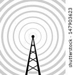 transmitter icon  | Shutterstock .eps vector #147903623