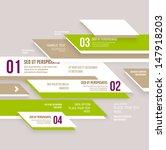 modern design infographic... | Shutterstock .eps vector #147918203