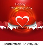 happy friendship day background ... | Shutterstock .eps vector #147982307