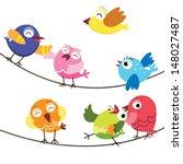 temas animais,animais e animais de estimação,desenho animado,bico,ave,pássaro azul,desenhos animados,personagens,bonito,animais de estimação exóticos,voando,diversão,grupo de animais,ilustração e pintura,rindo