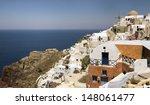 view of santorini's island...   Shutterstock . vector #148061477