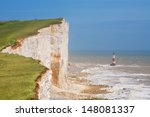 Chalk Cliff At Beachy Head Nea...