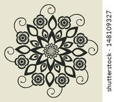 abstract flower | Shutterstock .eps vector #148109327