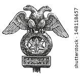 heraldic eagle | Shutterstock . vector #148118657