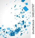 abstract squares vector... | Shutterstock .eps vector #148123787