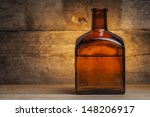 bottle of liquor | Shutterstock . vector #148206917