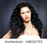 portrait of the  beautiful... | Shutterstock . vector #148222733