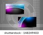 abstract creative business... | Shutterstock . vector #148249403