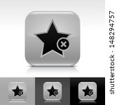 star icon set. gray color...