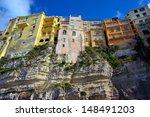 italian city tropea  area... | Shutterstock . vector #148491203