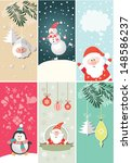 christmas and new year's banners | Shutterstock .eps vector #148586237