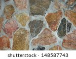 Texture Of Colorful Stone In...
