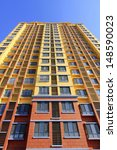 unfinished high rise building ... | Shutterstock . vector #148590023
