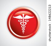 caduceus medical symbol vector... | Shutterstock .eps vector #148622213