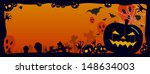 halloween background vector...   Shutterstock .eps vector #148634003