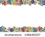 postage stamps from many...   Shutterstock . vector #148640207
