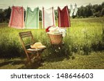 Washing Day With Laundry On...
