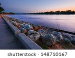 mississippi river and the cass... | Shutterstock . vector #148710167