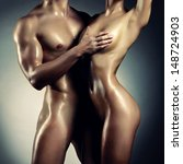 Art Photo Of Nude Sexy Couple...