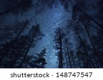 a beautiful night sky  the... | Shutterstock . vector #148747547