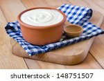 sour cream | Shutterstock . vector #148751507