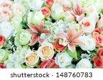 Flower Bouquet Background
