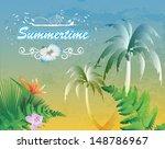 summertime retro | Shutterstock .eps vector #148786967
