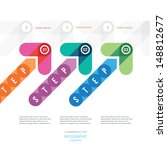 the step instruction with color ...   Shutterstock .eps vector #148812677