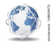 communication world  global... | Shutterstock .eps vector #148834073