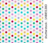 seamless retro inspired... | Shutterstock .eps vector #148851383