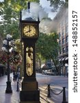 Steam Clock At Gastown...