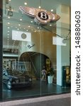 Постер, плакат: Bentley dealership on Friedrichstrasse