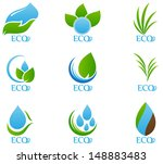 ecology icon | Shutterstock .eps vector #148883483