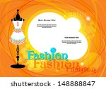 vector fashion background  ...