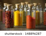Assorted Ground Spices In...