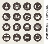 infographic icons | Shutterstock .eps vector #148908503