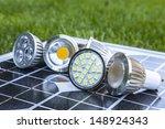 Various Gu10 Led Bulbs On...