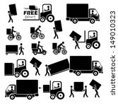 bicycle,business,carrier,collection,commerce,courier,deliver,delivery,design,element,export,express,fast,frame,free