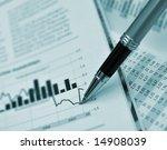 pen showing diagram on... | Shutterstock . vector #14908039