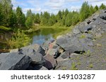 Abandoned Mine. Northern Finland