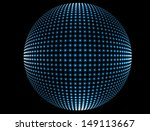 abstract glowing sphere | Shutterstock .eps vector #149113667