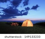 camping on the lake superior... | Shutterstock . vector #149133233