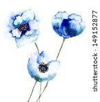Beautiful Blue Flowers ...