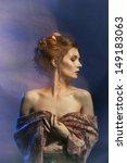 beauty girl.fashion art woman...   Shutterstock . vector #149183063