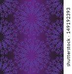 Violet Fern Seamless Pattern