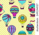 aerostats vector seamless... | Shutterstock .eps vector #149194937