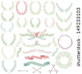 vector collection of laurels ... | Shutterstock .eps vector #149233103